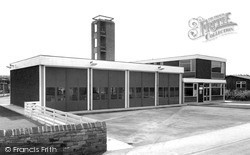 The Fire Station c.1965, Knottingley