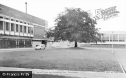 The Social Centre And Swimming Pool c.1965, Knottingley