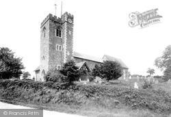 St Paul's Church 1911, Knowbury