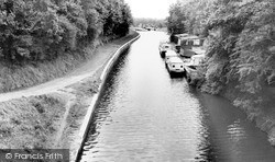 Grand Union Canal c.1965, Knowle