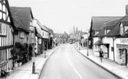 Knowle, Warwick Road c1965
