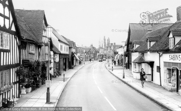 Photo of Knowle, Warwick Road c1965