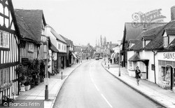 Warwick Road c.1965, Knowle