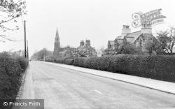 Church Road c.1955, Knowsley