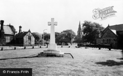The Memorial c.1960, Knowsley