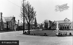 The Village Green c.1955, Knowsley