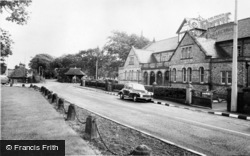 The Village Hall c.1960, Knowsley
