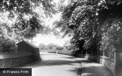 Tithe Barn Road c.1955, Knowsley