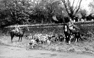 Knowstone, the Meet c1960