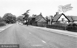 Knutsford, Chelford Road c.1960