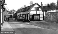 Knutsford, King Street c.1955