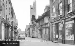 Knutsford, King Street c.1960