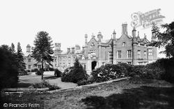 Knutsford, Mere Hall 1898