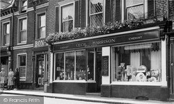 Knutsford, Miss Matty's Tea Shop c.1955