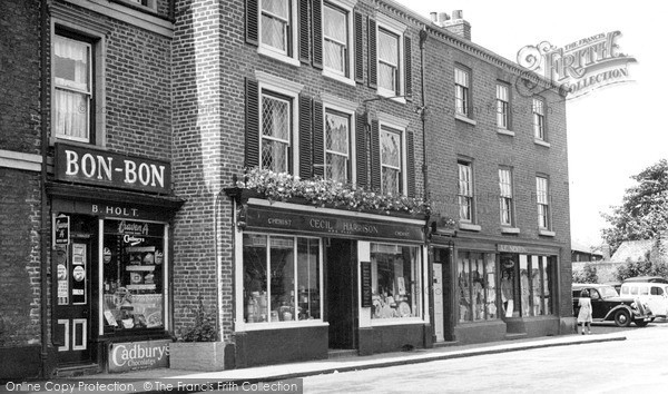 Photo of Knutsford, Miss Matty's Tea Shop c.1955