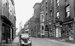 Knutsford, Royal George Hotel, King Street c.1955
