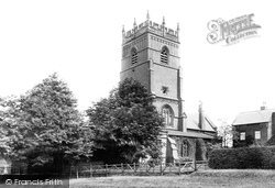 Knutsford, St Cross Church 1898