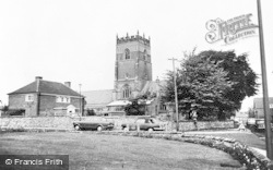 Knutsford, St Cross Church c.1965