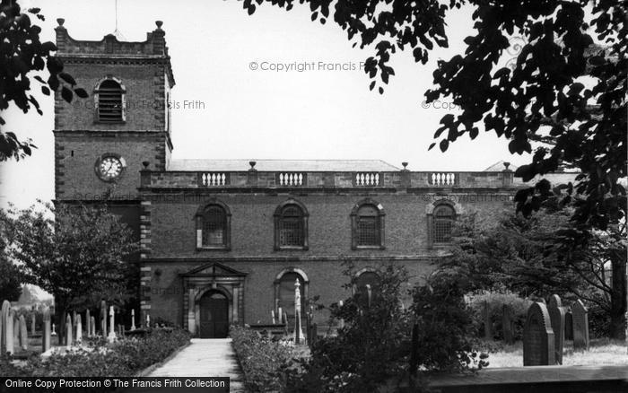 Photo Of Knutsford, St John The Baptist Church C.1955