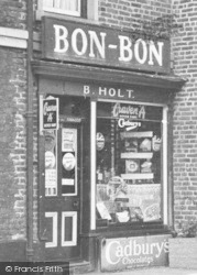 Knutsford, Sweet Shop And Tobacconist c.1955