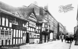 Knutsford, The Rose And Crown 1898