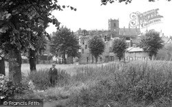 Knutsford, The Town From The Moor c.1955