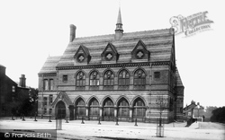 Knutsford, The Town Hall 1898
