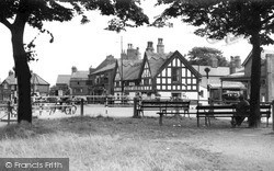 Knutsford, The White Bear From The Heath c.1955