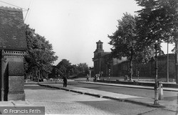 Knutsford, Toft Road c.1955