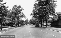Knutsford, Toft Road c.1960