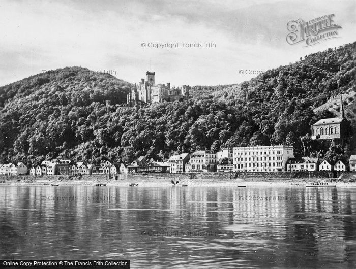 Photo of Koblenz, Chapel, With Stolzenfels c.1930