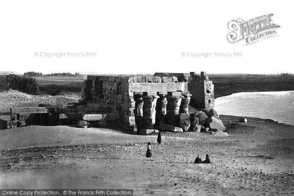 Photo of Kom Ombo, From The North East 1857