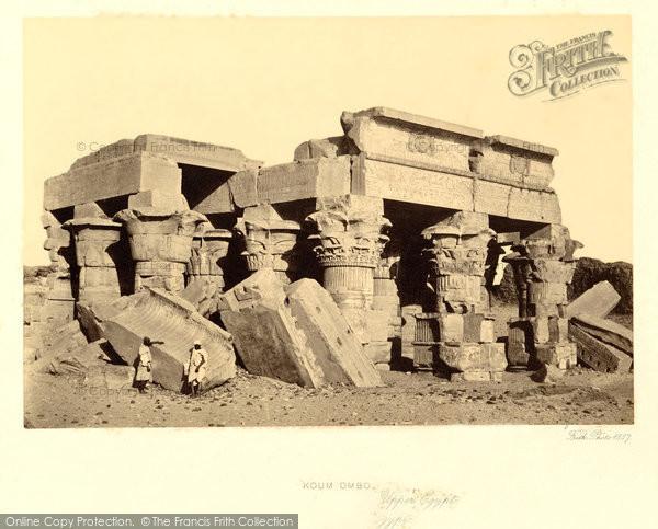 Photo of Kom Ombo, Near View 1857