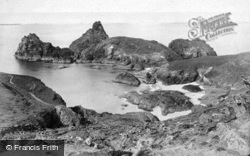 Goat Rock And Asparagus Island c.1890, Kynance Cove
