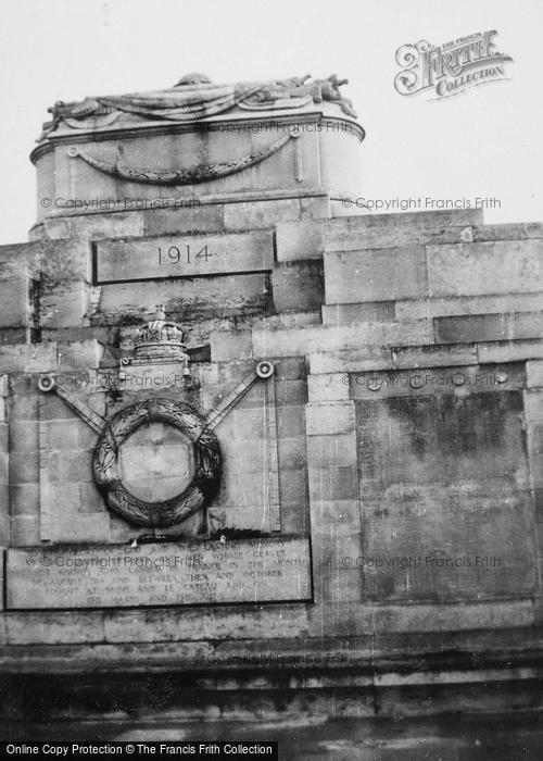 Photo of La Ferté Sous Jouarre, British War Memorial c.1935