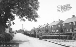 Laceby, Cemetery Road c.1960