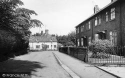 Laceby, Church Lane c.1955