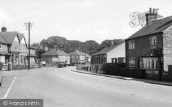 Laceby, Grimsby Road c.1955