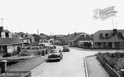 Laceby, Long Meadows Drive c.1960