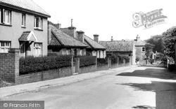 Laceby, Old Chapel Lane c.1955
