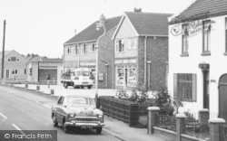 Laceby, Shops In Caistor Road c.1965