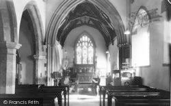 Laceby, St Margaret's Church, Interior c.1960