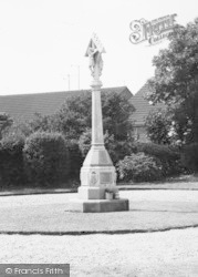 Laceby, The Memorial c.1960
