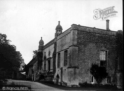 Lacock, Abbey And Gateway c.1955