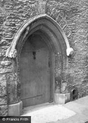 Lacock, Abbey Doorway c.1950