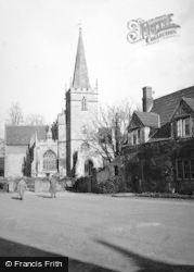 Lacock, Church 1951