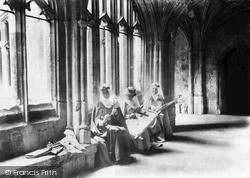 Lacock, The Abbey Cloisters 1932