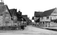 Lacock, the Corner House, Church Street c1955