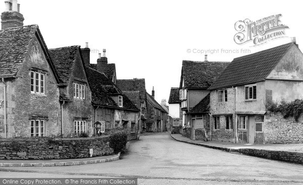 Lacock, The Corner House, Church Street c.1955.  (Neg. L1014)  © Copyright The Francis Frith Collection 2005. http://www.francisfrith.com