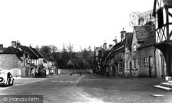 Lacock, The High Street c.1955